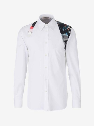 Cotton Shirt with Harness