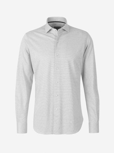Micro Print Knit Shirt