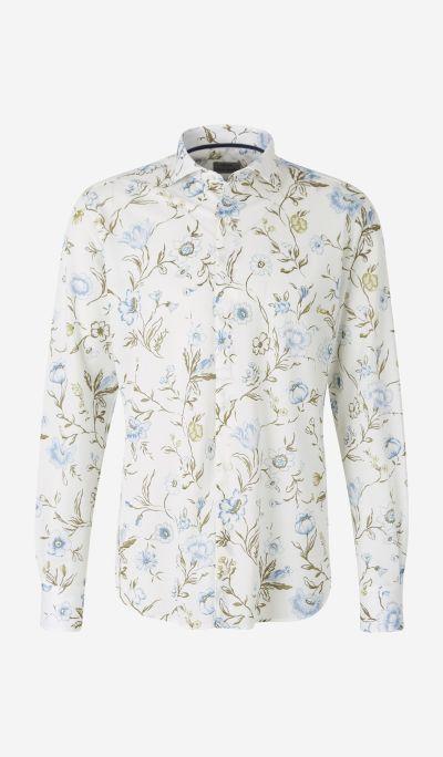 Floral Pique Shirt
