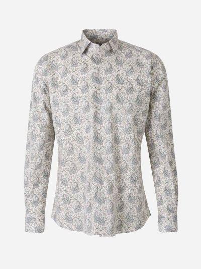 Paisley Motif Shirt
