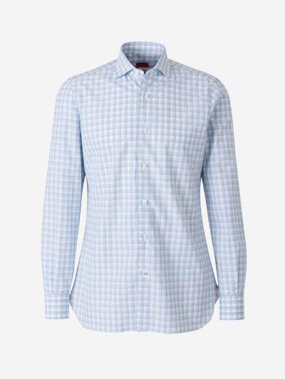 Camisa Popelín Quadres