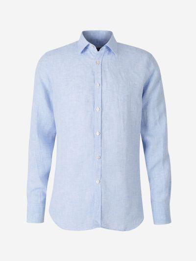 Camisa Slim Lino