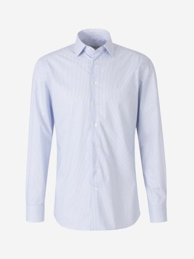 Micromotive Cotton Shirt