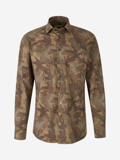 Horses Camouflage Shirt