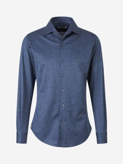 Cotton Knit Shirt