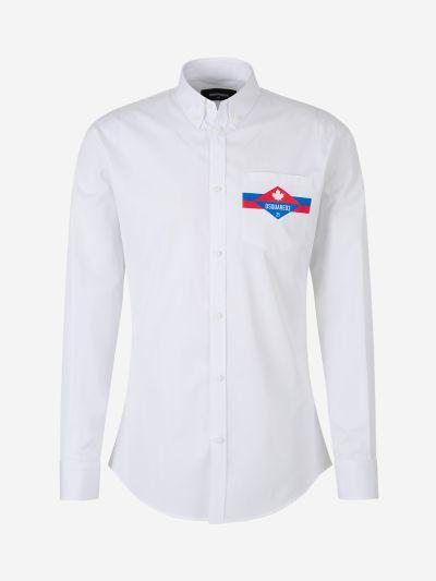 Poplin Logo Shirt