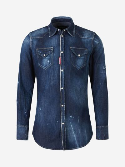 Cotton Denim Shirts