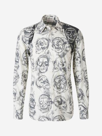 Skull Print Shirt
