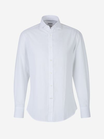 Herringbone Cotton Shirt
