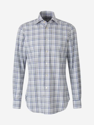 Checked Poplin Shirt