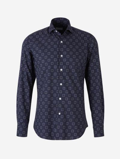 Camisa Algodón Estampada