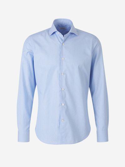 Camisa Jacquard