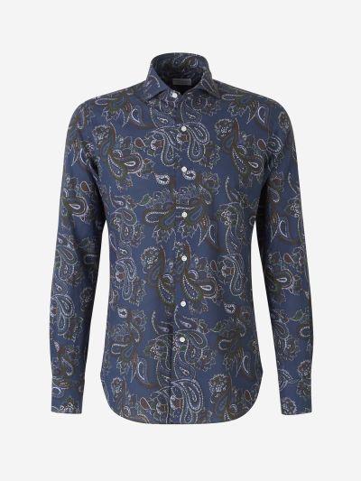 Cashmere print shirt