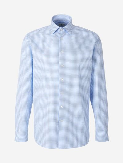Jacquard Motif Shirt