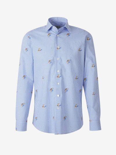 Gingham Check Shirt