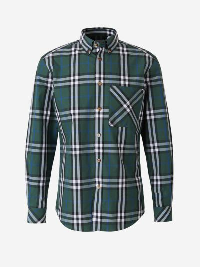 Checked Design Shirt