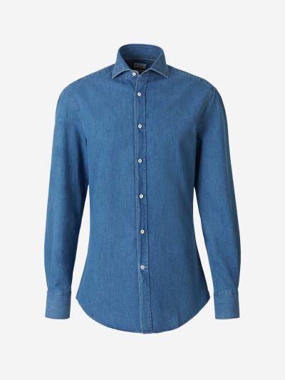 Camisa Denim Algodón