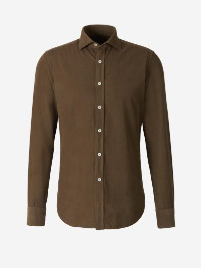 Micro Corduroy Shirt