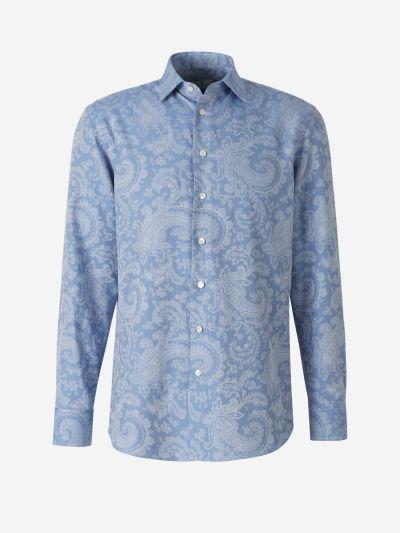Jacquard Paisley Shirt