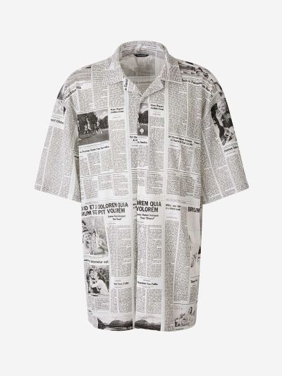 Newspaper Shirt