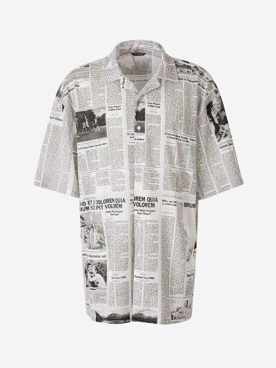 Camisa Newspaper