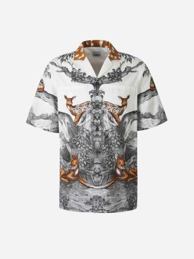 Camisa Il·lustració Estampada