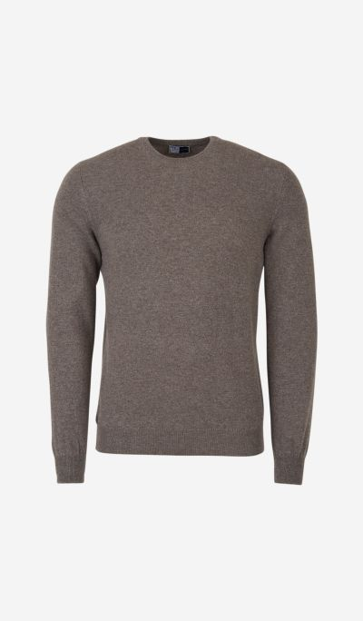Cashmere knitted jumper