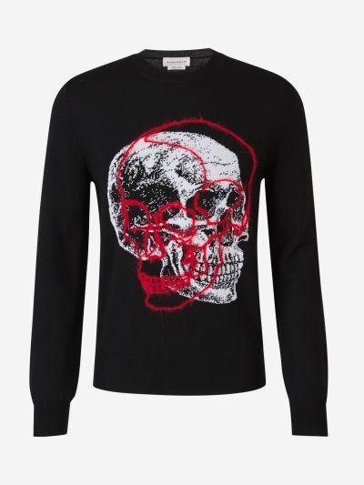 Skull Knit Sweater