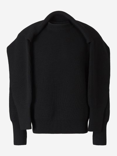 Ribbed Overlay Jumper