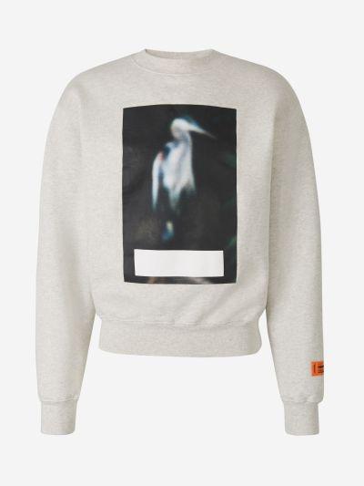 Abstract Graphic Sweatshirt