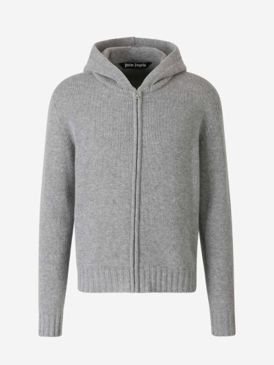 Wool Curved Logo Sweater