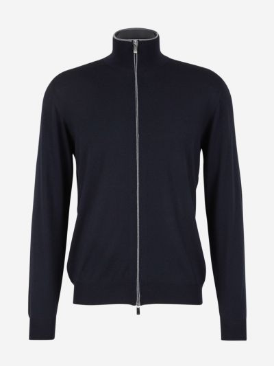 Faviono cardigan with zip
