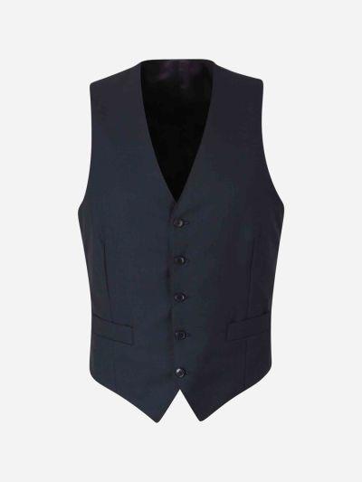 Straight Wool Waistcoat