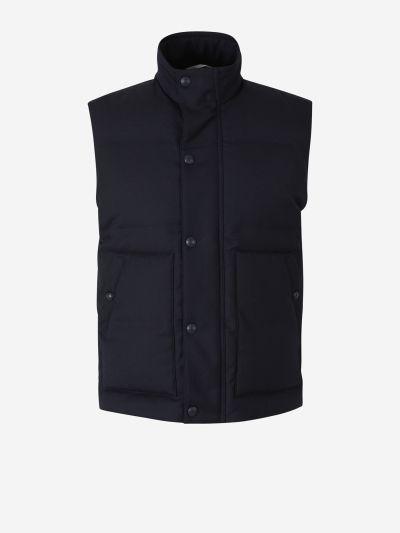 Wool Padded Vest