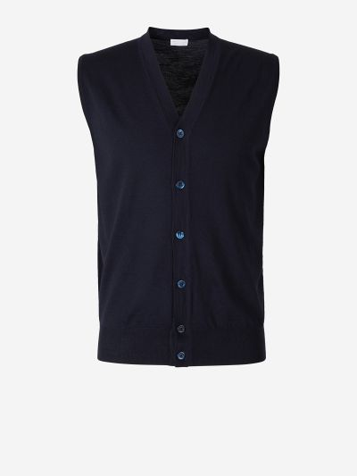 Button Knit Vest