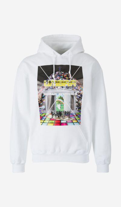 Carousel sweatshirt with hood