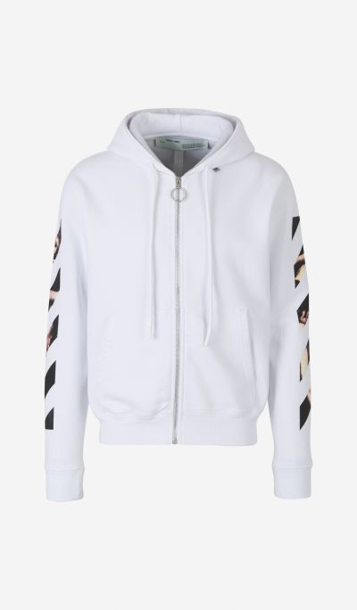 """Caravaggio Arrows"" Zip-Up Sweatshirt"