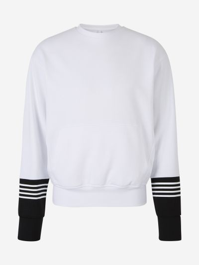 Bicolor Stripes Sweatshirt