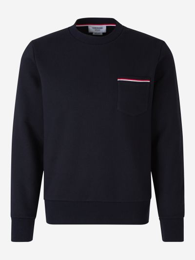 Chest Pocket Sweatshirt