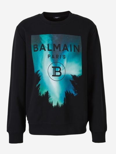 Sky Print Sweatshirt