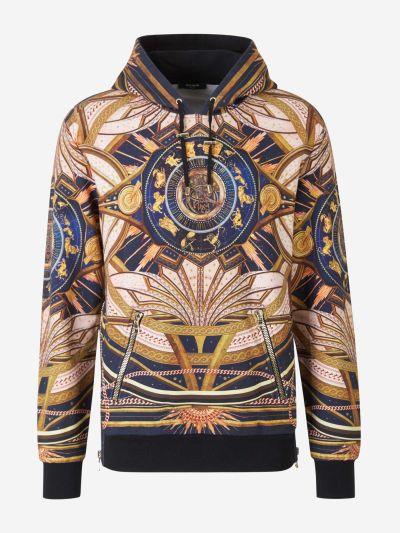 Zodiac Print Sweatshirt
