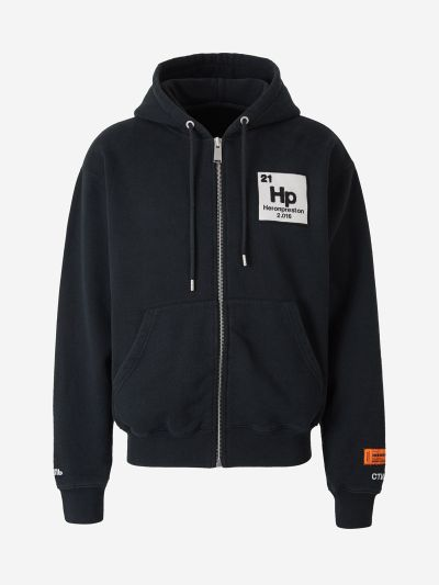 Cotton Zip Sweatshirt