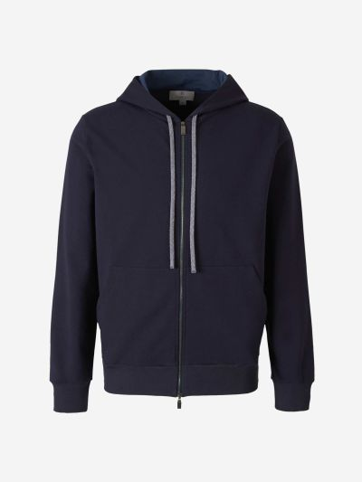 Cotton Zip Sweatshirt