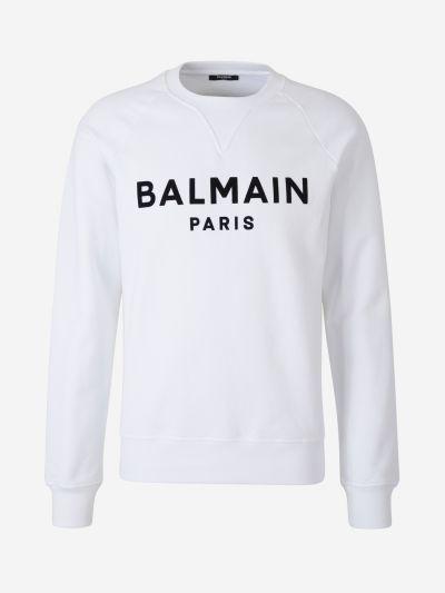 Raglan Sleeve Logo Sweatshirt