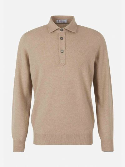 Jersey Polo Cashmere