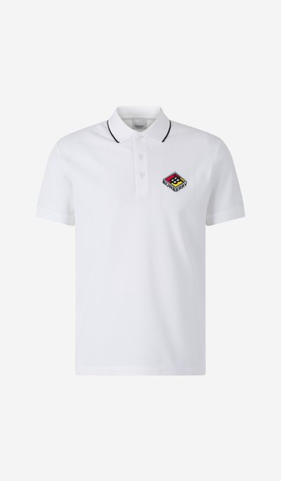Embroidered Piquet Polo shirt