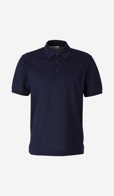 Embroidered Logo Piqué Polo Shirt