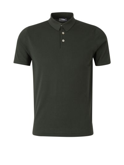 Slim Fit Knit Polo Shirt