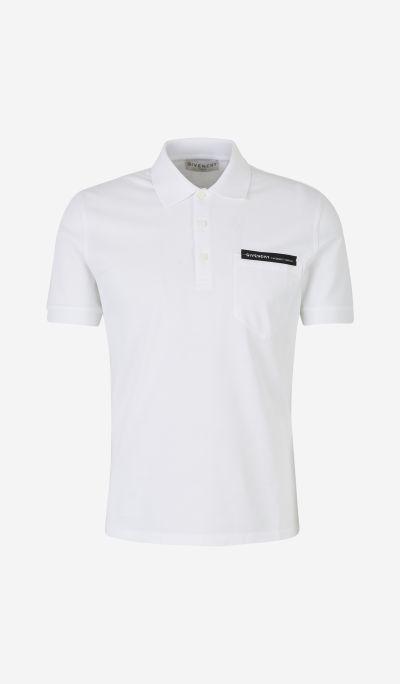 Chest Logo Piqué Polo Shirt