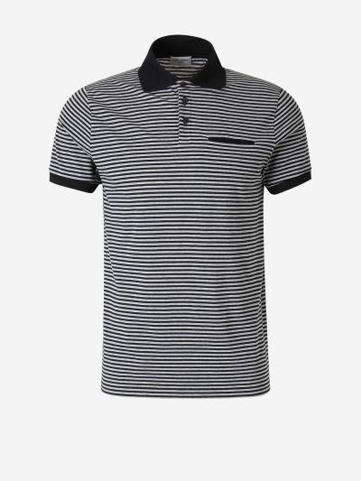 Horizontal Striped Polo